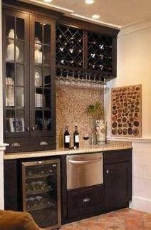 Gorgeous Minibar Designs Ideas For Your Kitchen17