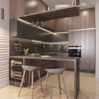 Gorgeous Minibar Designs Ideas For Your Kitchen42