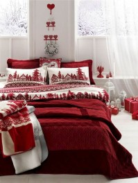 Impressive Christmas Bedding Ideas You Need To Copy13