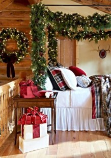 Impressive Christmas Bedding Ideas You Need To Copy19