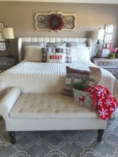 Impressive Christmas Bedding Ideas You Need To Copy37