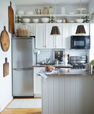 Impressive Minimalist Kitchen Design Ideas For Tiny Houses15