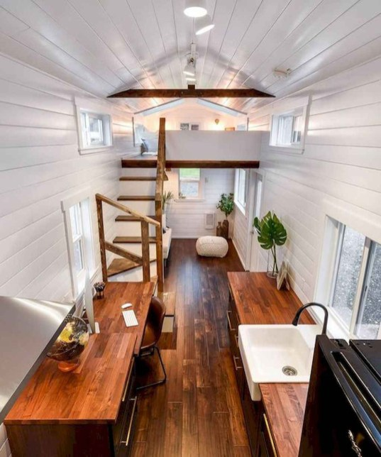 Impressive Minimalist Kitchen Design Ideas For Tiny Houses47