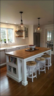 Island Kitchen Design Ideas Attractive For Comfortable Cooking08