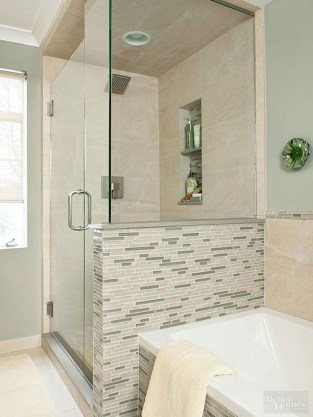 Amazing Small Glass Shower Design Ideas For Relaxing Space07