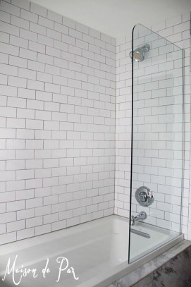 Amazing Small Glass Shower Design Ideas For Relaxing Space18