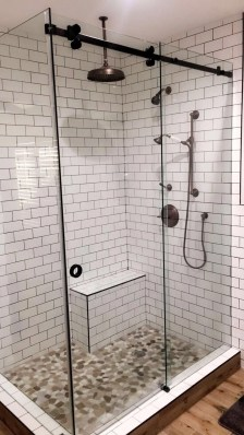 Amazing Small Glass Shower Design Ideas For Relaxing Space33