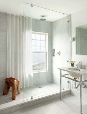 Amazing Small Glass Shower Design Ideas For Relaxing Space34