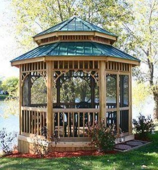 Attractive And Unique Gazebo Ideas That You Must Know32