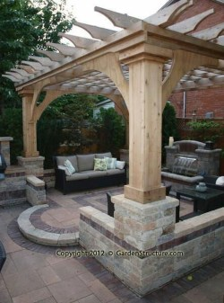Attractive And Unique Gazebo Ideas That You Must Know34