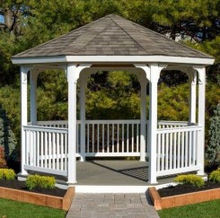 Attractive And Unique Gazebo Ideas That You Must Know37