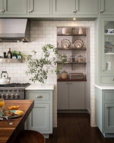 Awesome Farmhouse Kitchen Cabinet Design Ideas You Should Know That13