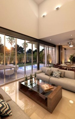 Awesome Modern Living Room Design Ideas For Your Inspiration26