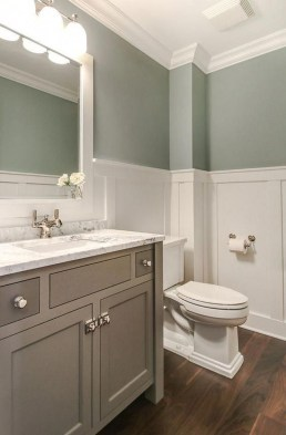 Best Gray And White Bathroom Ideas For16
