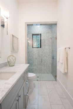 Best Gray And White Bathroom Ideas For24
