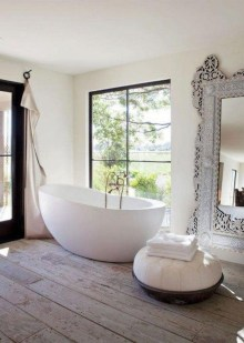 Charming French Country Bathroom Design And Decor Ideas On A Budget11