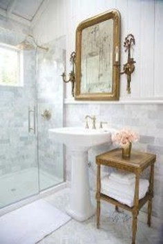 Charming French Country Bathroom Design And Decor Ideas On A Budget18