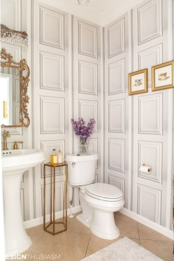 Charming French Country Bathroom Design And Decor Ideas On A Budget34