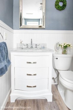Charming French Country Bathroom Design And Decor Ideas On A Budget36