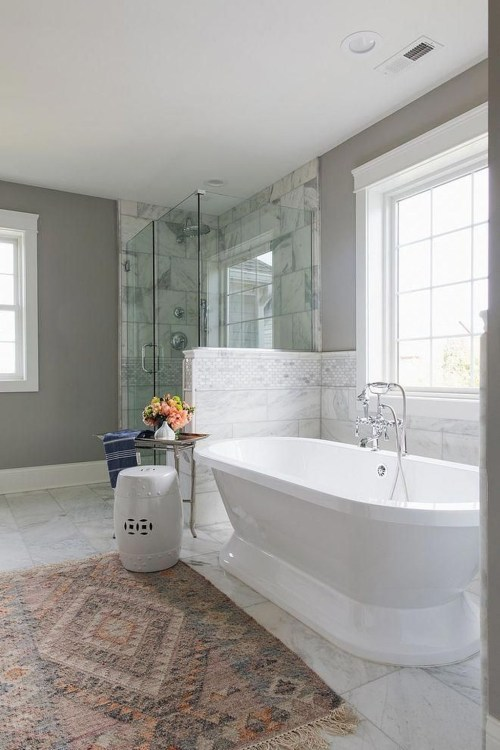 Charming French Country Bathroom Design And Decor Ideas On A Budget42