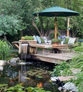 Fabulous Fish Pond Design Ideas For Your Home Yard03