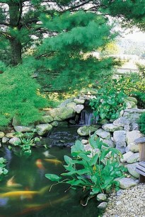 Fabulous Fish Pond Design Ideas For Your Home Yard05