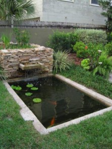Fabulous Fish Pond Design Ideas For Your Home Yard19