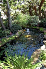 Fabulous Fish Pond Design Ideas For Your Home Yard21
