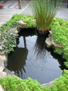 Fabulous Fish Pond Design Ideas For Your Home Yard22