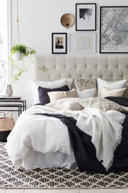 Fabulous Headboard Designs For Your Bedroom Inspiration34
