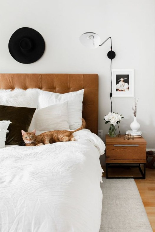 Fabulous Headboard Designs For Your Bedroom Inspiration40