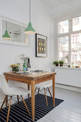 Fabulous Tiny Dining Room Design Ideas For09