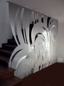 Glass Railing Divider Designs39