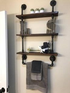 Industrial Bathroom Shelves Design Ideas02