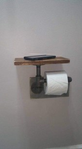 Industrial Bathroom Shelves Design Ideas05