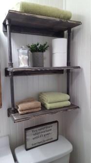 Industrial Bathroom Shelves Design Ideas12