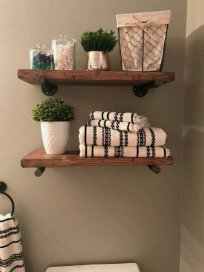 Industrial Bathroom Shelves Design Ideas15