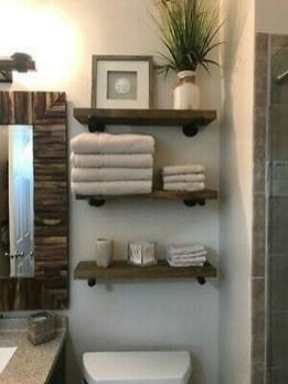 Industrial Bathroom Shelves Design Ideas24