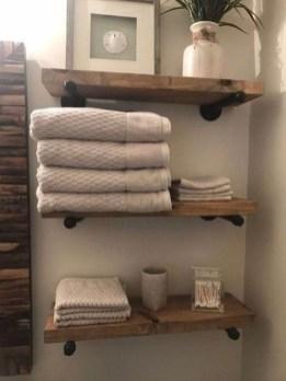 Industrial Bathroom Shelves Design Ideas27