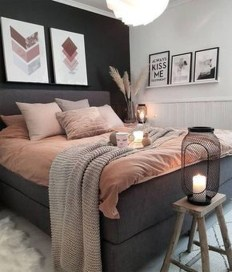 Make Your Bedroom Cozy With Neutral Bedroom Decorations35
