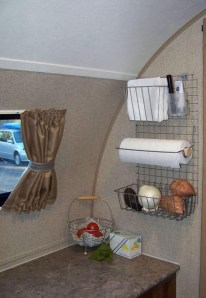Simple Rv Camper Storage Design Ideas For Your Travel14