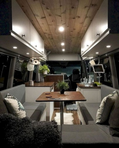 Simple Rv Camper Storage Design Ideas For Your Travel37