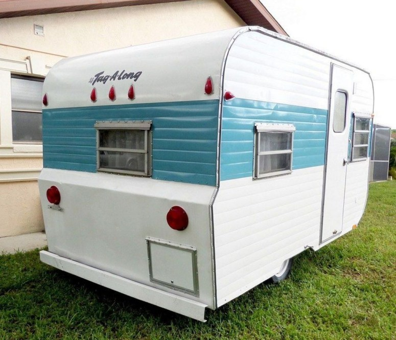 Unique Vintage Camper Exterior Ideas For More Impression13