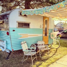 Unique Vintage Camper Exterior Ideas For More Impression35