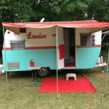 Unique Vintage Camper Exterior Ideas For More Impression43