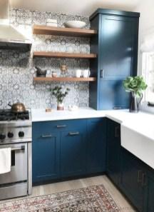 Wonderful Blue Kitchen Design Ideas21
