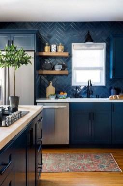 Wonderful Blue Kitchen Design Ideas26