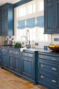 Wonderful Blue Kitchen Design Ideas30