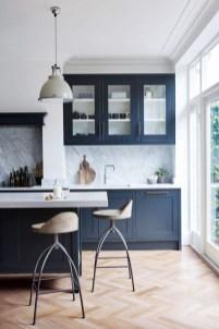 Wonderful Blue Kitchen Design Ideas37