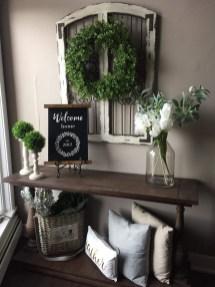 Wonderful Farmhouse Decor Ideas With Beautiful Greenery11
